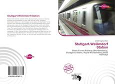 Bookcover of Stuttgart-Weilimdorf Station