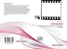 Bookcover of Sammy Sum
