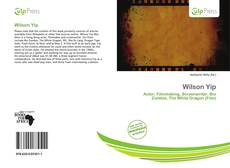 Bookcover of Wilson Yip