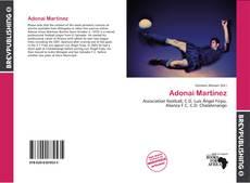 Bookcover of Adonai Martínez