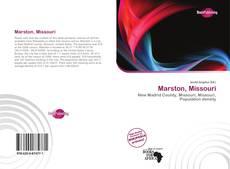Bookcover of Marston, Missouri