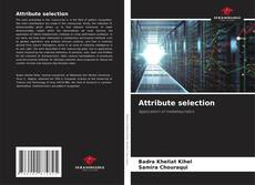 Portada del libro de Attribute selection