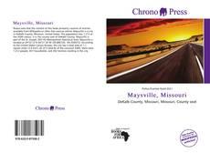 Bookcover of Maysville, Missouri