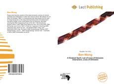 Buchcover von Ben Wong