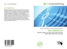 Portada del libro de Dem Rădulescu