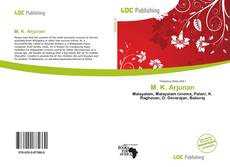 Capa do livro de M. K. Arjunan