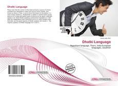 Dhatki Language的封面