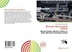 München Marienplatz Station kitap kapağı