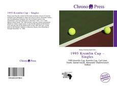 Bookcover of 1995 Kremlin Cup – Singles