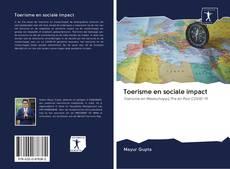 Toerisme en sociale impact的封面