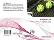 Buchcover von 1995 Open 13
