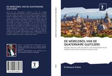 Обложка DE WERELDBOL VAN DE QUATERNAIRE GLETSJERS