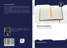 Bookcover of Communication