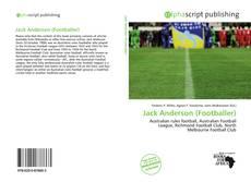 Bookcover of Jack Anderson (Footballer)