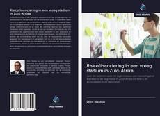 Обложка Risicofinanciering in een vroeg stadium in Zuid-Afrika