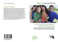 Bookcover of English in Barbados