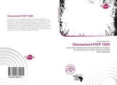 Capa do livro de Classement FICP 1985
