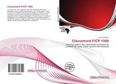 Capa do livro de Classement FICP 1986