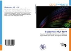 Capa do livro de Classement FICP 1990