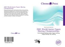 Copertina di 2003 World Junior Figure Skating Championships