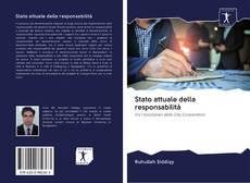 Stato attuale della responsabilità kitap kapağı