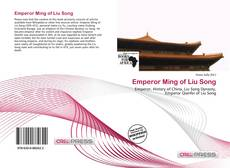 Capa do livro de Emperor Ming of Liu Song