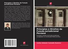 Capa do livro de Princípios e Direitos da Função Jurisdicional Peruana