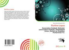 Capa do livro de Porfirio López
