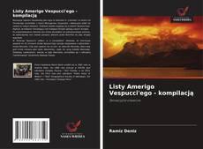 Portada del libro de Listy Amerigo Vespucci'ego - kompilacją