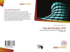 Portada del libro de Tour des Flandres 1919