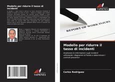 Modello per ridurre il tasso di incidenti kitap kapağı
