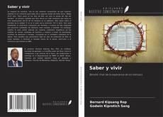 Bookcover of Saber y vivir