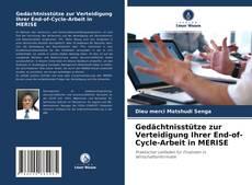 Gedächtnisstütze zur Verteidigung Ihrer End-of-Cycle-Arbeit in MERISE kitap kapağı