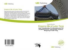 Portada del libro de Emperor Mo of Later Tang