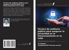 Bookcover of Técnica de auditoría pública para asegurar la privacidad en el almacenamiento en la nube