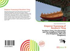 Bookcover of Emperor Yuanzong of Southern Tang
