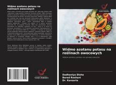 Bookcover of Widmo azotanu potasu na roślinach owocowych