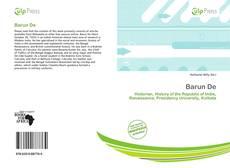 Buchcover von Barun De
