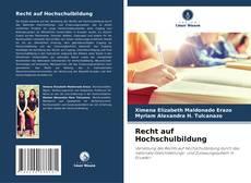 Buchcover von Recht auf Hochschulbildung