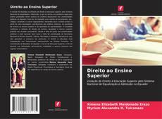 Portada del libro de Direito ao Ensino Superior