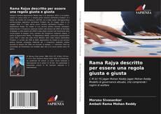 Bookcover of Rama Rajya descritto per essere una regola giusta e giusta