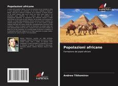 Copertina di Popolazioni africane