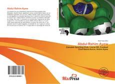 Bookcover of Abdul Rahim Ayew