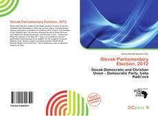 Borítókép a  Slovak Parliamentary Election, 2012 - hoz
