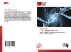 Capa do livro de C. R. Subburaman