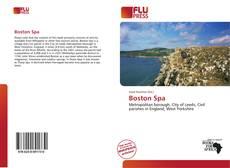 Bookcover of Boston Spa