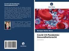 Buchcover von Covid-19-Pandemie: Gesundheitsrecht