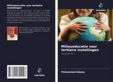 Borítókép a  Milieueducatie voor tertiaire instellingen - hoz
