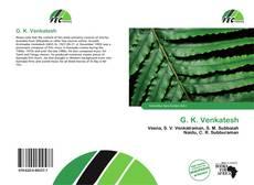 Portada del libro de G. K. Venkatesh