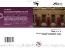 Capa do livro de Cawthorne